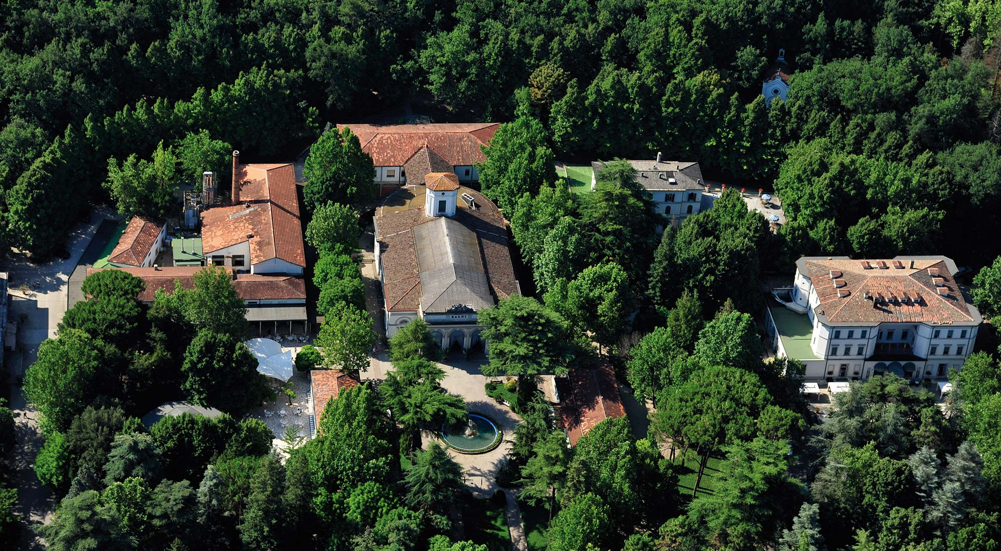 Terme di Riolo | Il parco